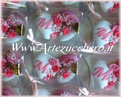 Catalogo confetti decorati floreali menu confetti decorati pasta di zucchero idee e bomboniere - Idee originali per segnaposto matrimonio ...